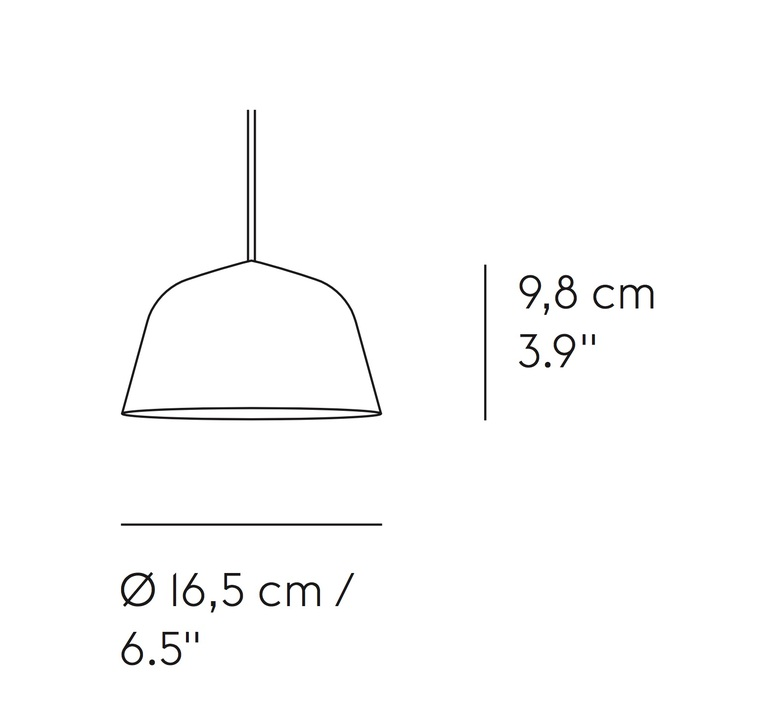 Ambit mini taf architects suspension pendant light  muuto 15353  design signed nedgis 85417 product