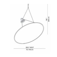Amisol daniel rybakken suspension pendant light  luceplan 1d910s000002 1d910 100002  design signed nedgis 78583 thumb