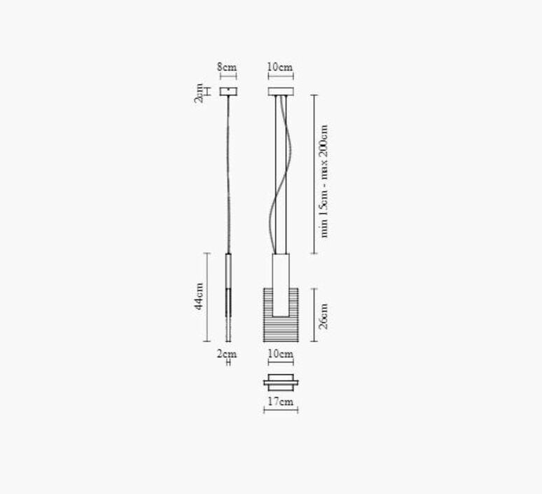 Amulette bernhardt vella suspension pendant light  fabbian f56a01 24  design signed nedgis 86097 product
