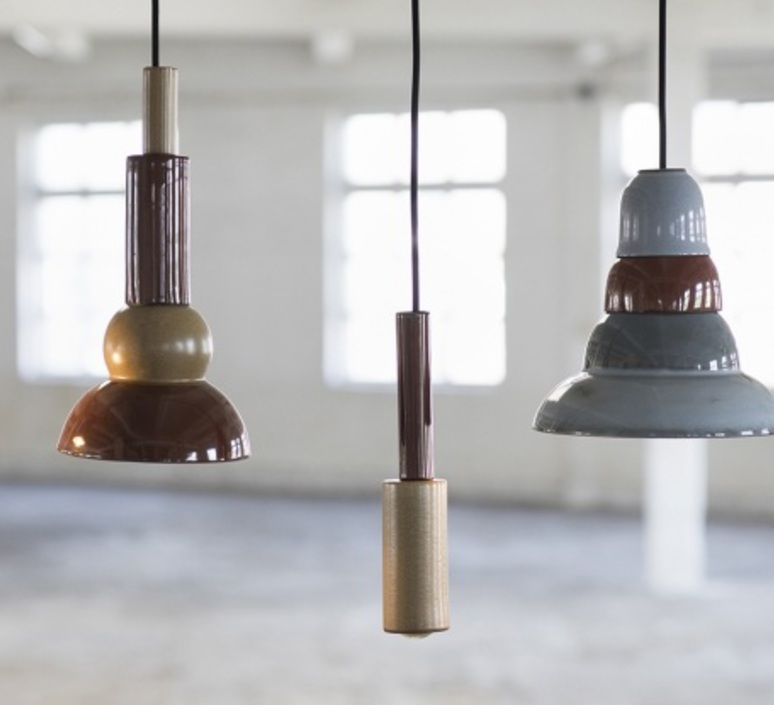 Terracotta bowl studio simple suspension pendant light  serax b7218409  design signed 74829 product