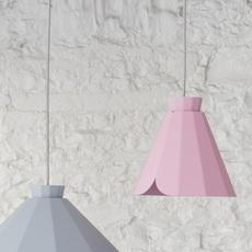 Ankara constance guisset matiere grise ankara medium rose clair luminaire lighting design signed 18166 thumb