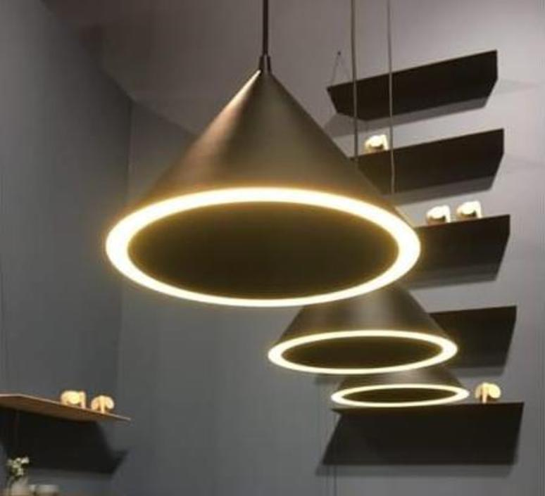 Annular pendant  suspension pendant light  woud 133033  design signed 37350 product