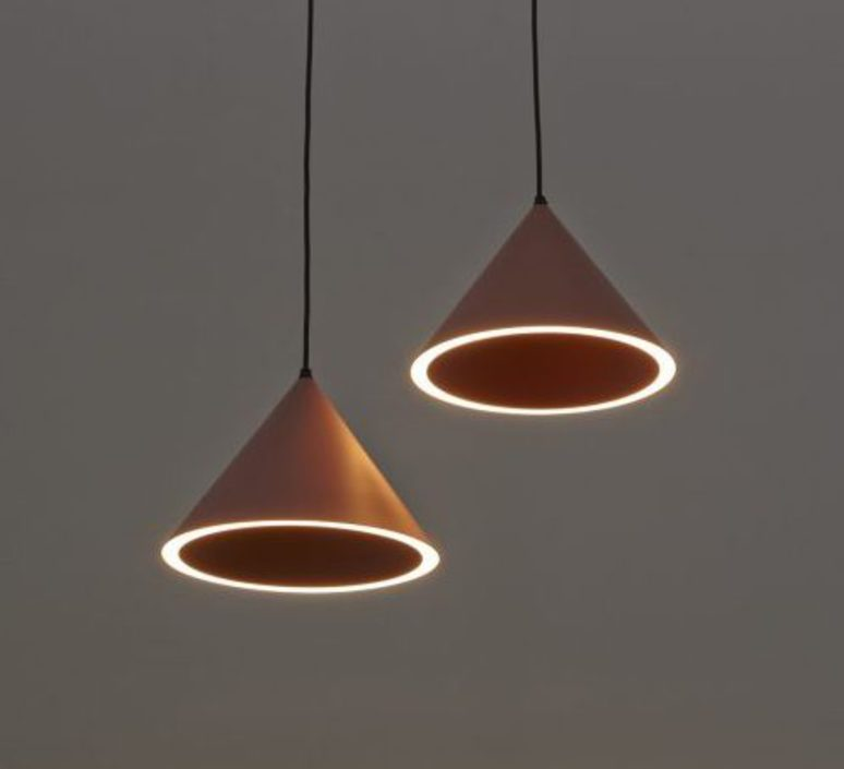 Annular pendant  suspension pendant light  woud 133031  design signed 37340 product