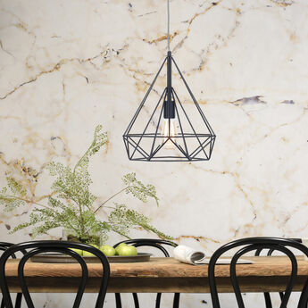 Suspension antwerp noir o38cm h40cm it s about romi normal