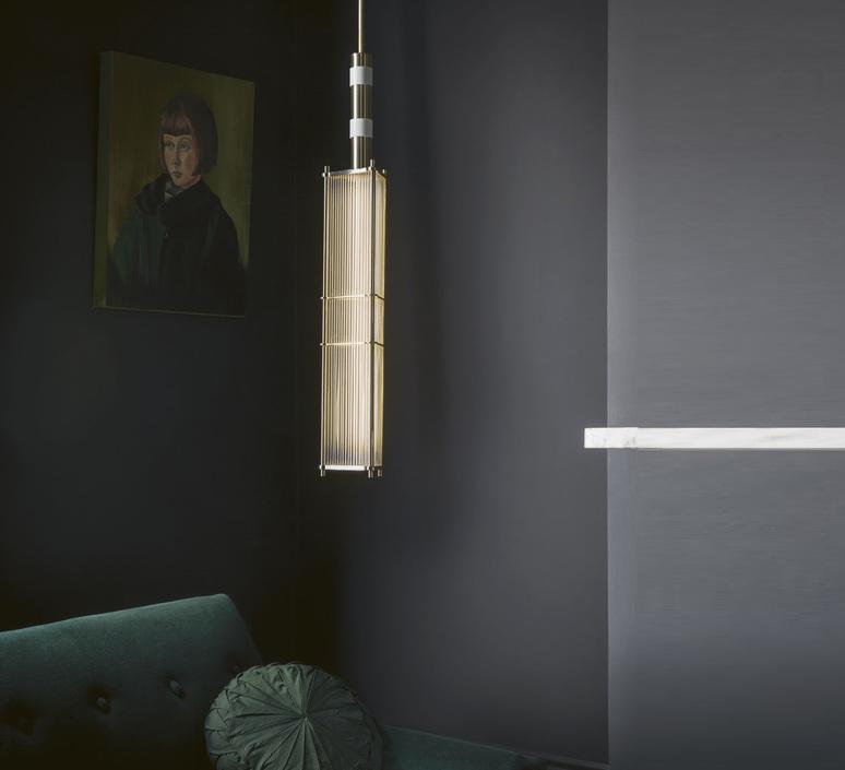 Arbor robbie llewellyn et adam yeats suspension pendant light  bert frank arbor pl chr wh  design signed nedgis 75393 product