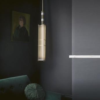 Suspension arbor chrome blanc o17cm h75cm bert frank normal