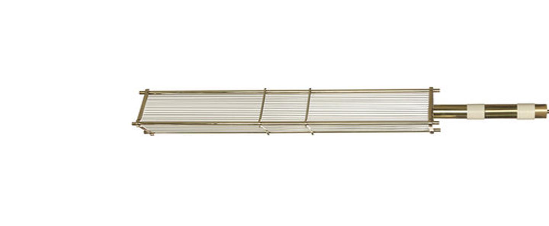 Suspension arbor laiton blanc o17cm h75cm bert frank normal