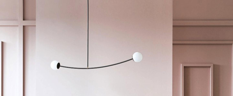 Suspension arch noir l124cm mm lampadari normal