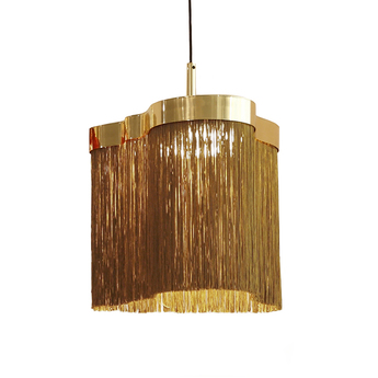 Suspension arcipelago maiorca cognac led 3000k 1800lm o34cm h34cm contardi normal