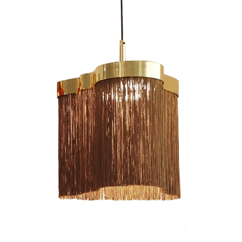 Suspension arcipelago maiorca rouille led 3000k 1800lm o34cm h34cm contardi normal