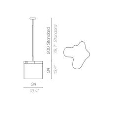 Arcipelago maiorca servomuto suspension pendant light  contardi acam 002563  design signed nedgis 86930 thumb