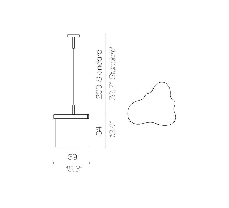 Arcipelago minorca servomuto suspension pendant light  contardi acam 002553  design signed nedgis 86956 product
