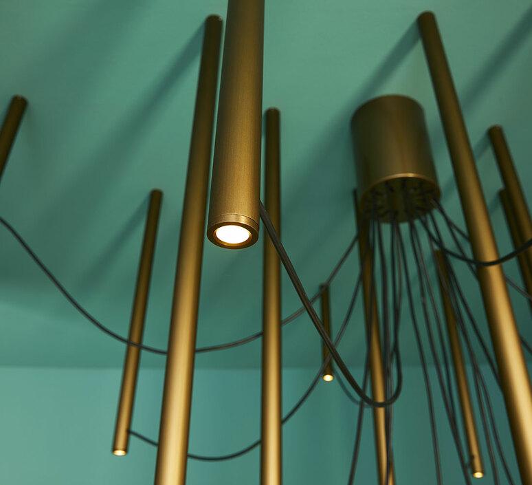 Ari 16 marco spatti marco pietro ricci suspension pendant light  fabbian f55a11 76  design signed nedgis 86152 product