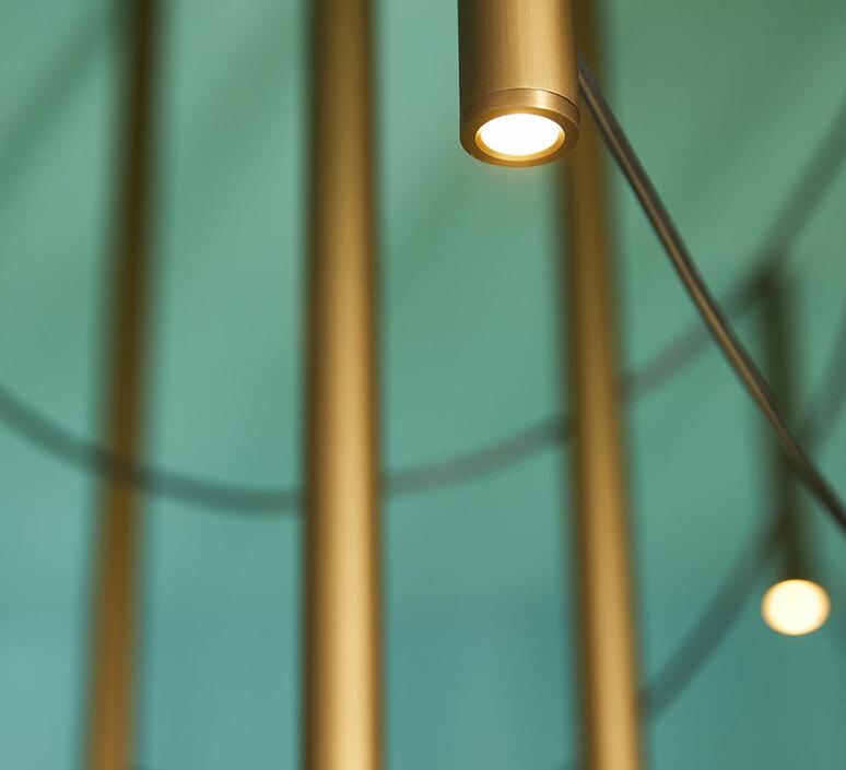 Ari 16 marco spatti marco pietro ricci suspension pendant light  fabbian f55a11 76  design signed nedgis 86158 product
