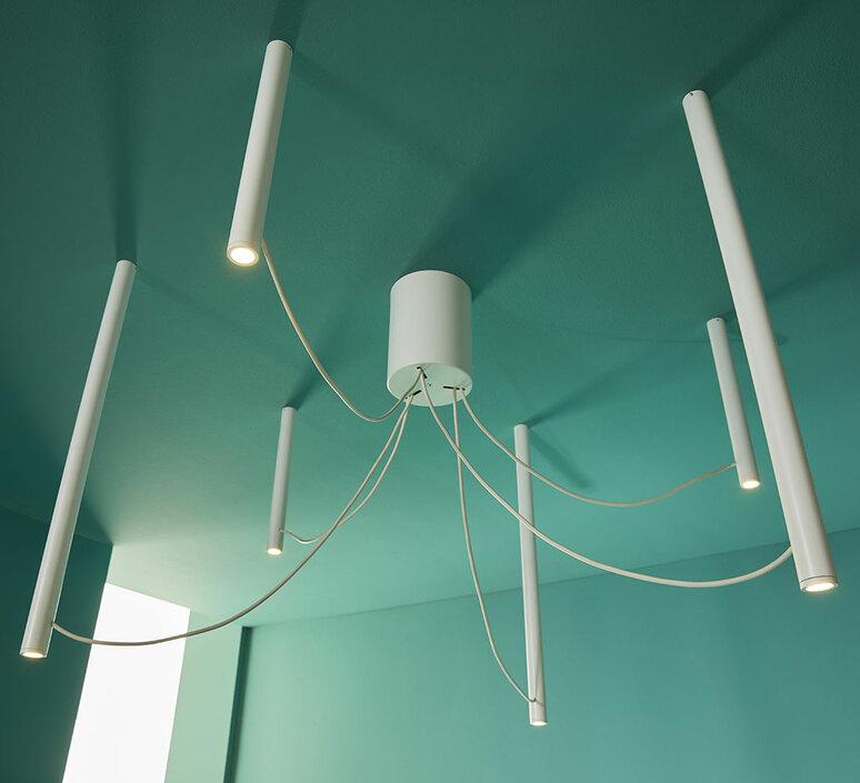 Ari 6 marco spatti marco pietro ricci suspension pendant light  fabbian f55a07 01  design signed nedgis 86132 product