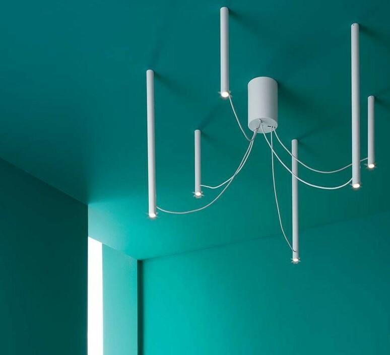 Ari 6 marco spatti marco pietro ricci suspension pendant light  fabbian f55a07 01  design signed nedgis 86138 product