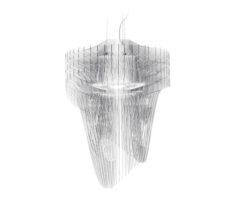 Aria l  suspension pendant light  slamp ari84sos0003t 000  design signed 52036 product