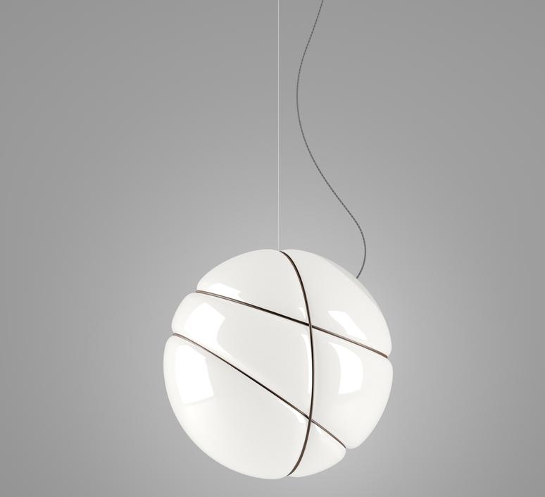 Armilla bruni lorenzo truant suspension pendant light  fabbian f50 a01 01  design signed nedgis 63572 product
