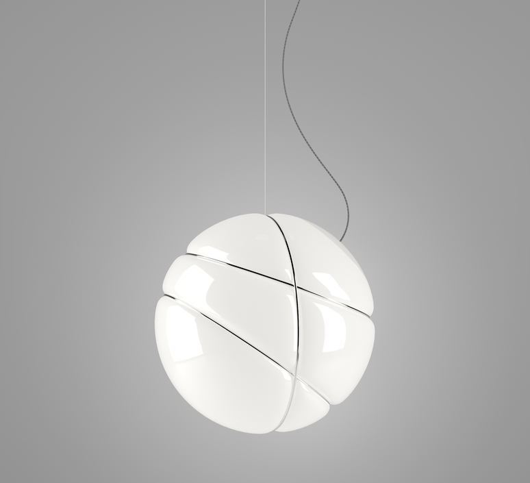Armilla chrome lorenzo truant suspension pendant light  fabbian f50 a03 01  design signed nedgis 63561 product
