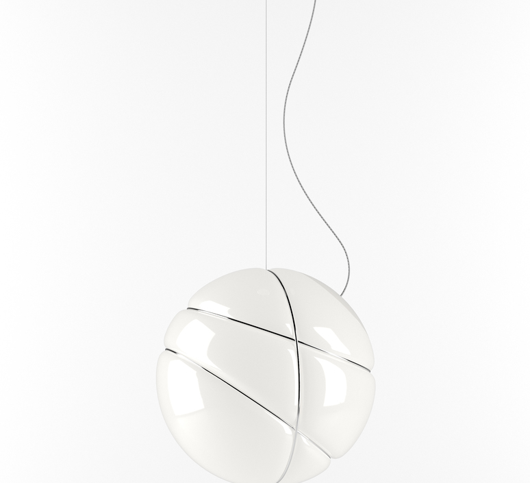Armilla chrome lorenzo truant suspension pendant light  fabbian f50 a03 01  design signed nedgis 63575 product
