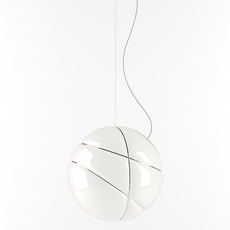 Armilla chrome lorenzo truant suspension pendant light  fabbian f50 a03 01  design signed nedgis 63575 thumb
