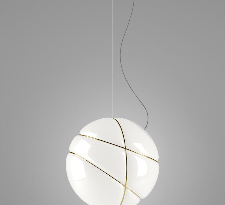 Armilla dore lorenzo truant suspension pendant light  fabbian f50 a05 01  design signed nedgis 63571 product