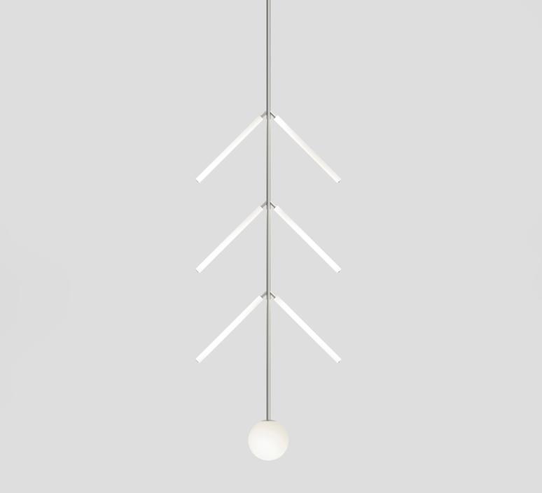 Arrow gwendolyn et guillane kerschbaumer suspension pendant light  atelier areti 427ol p01 ni 01   design signed nedgis 73402 product