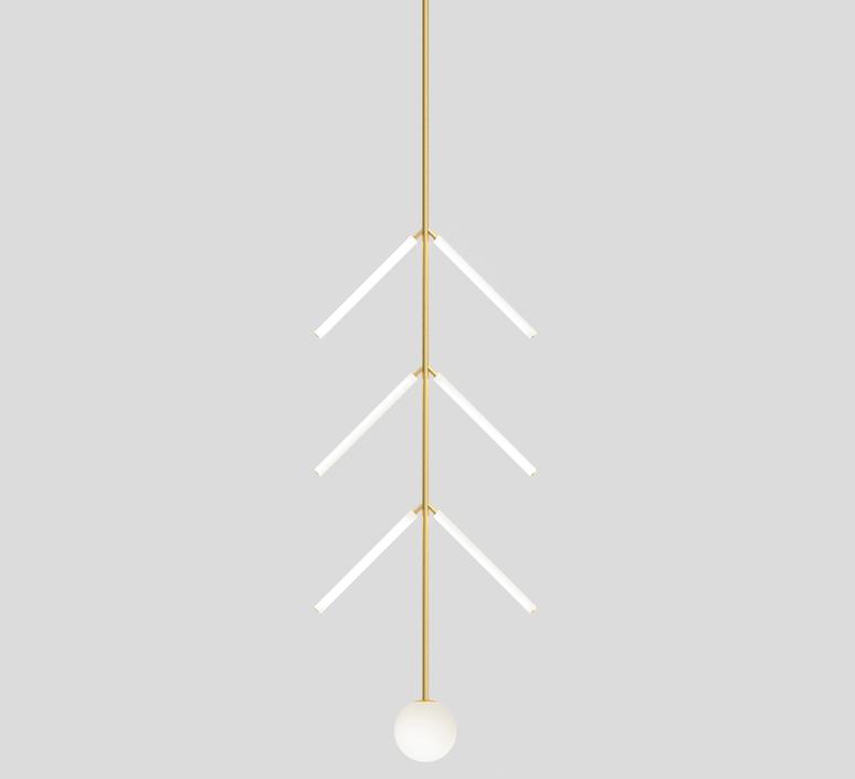 Arrow gwendolyn et guillane kerschbaumer suspension pendant light  atelier areti 427ol p01 br 01   design signed nedgis 73395 product