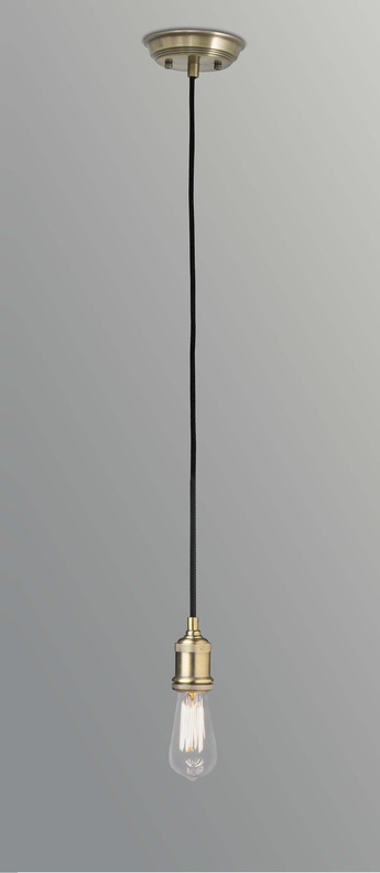 Suspension art laiton vieilli o5 5cm h5 5cm faro normal