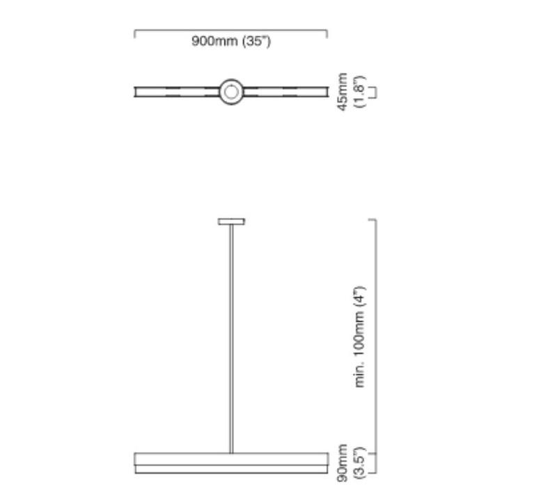 Artes 900 chris et clare turner suspension pendant light  cto lighting cto 01 042 0102  design signed nedgis 63840 product