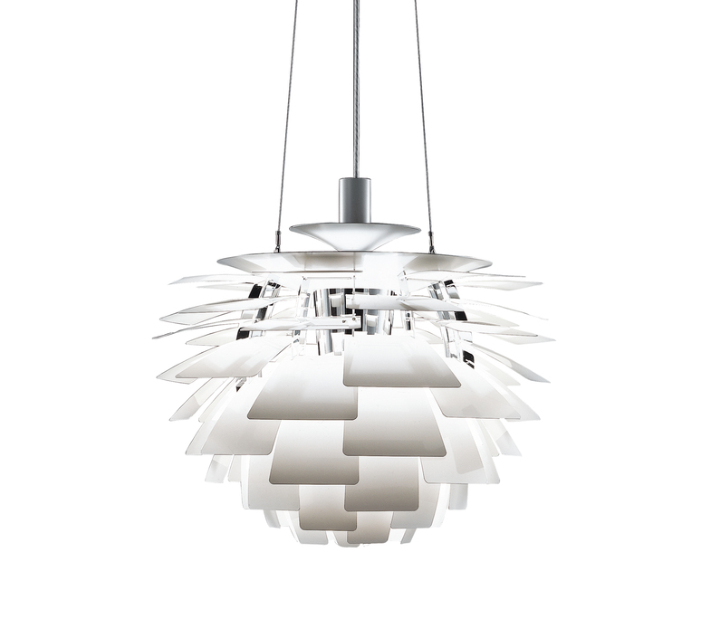 Artichoke l poul henningsen suspension pendant light  louis poulsen 5741092424  design signed 49072 product