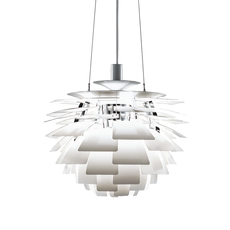 Artichoke l poul henningsen suspension pendant light  louis poulsen 5741092424  design signed 49072 thumb
