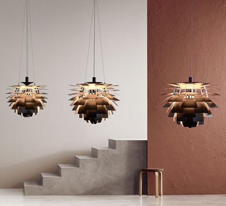 Artichoke l poul henningsen suspension pendant light  louis poulsen 5741112469  design signed nedgis 82206 product