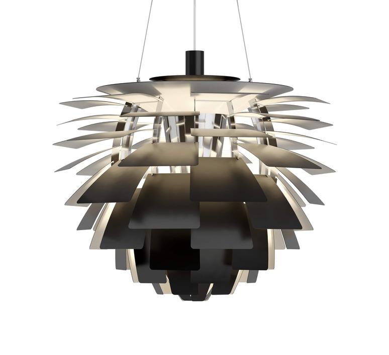 Artichoke l poul henningsen suspension pendant light  louis poulsen 5741112469  design signed nedgis 82208 product