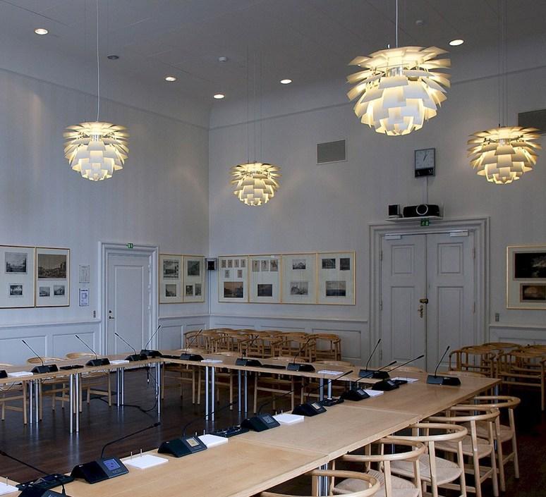 Artichoke m poul henningsen suspension pendant light  louis poulsen 5741092398  design signed 49060 product