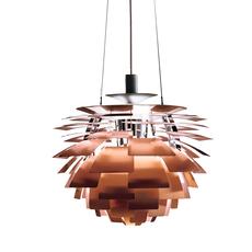 Artichoke m poul henningsen suspension pendant light  louis poulsen 5741092408  design signed 49064 thumb