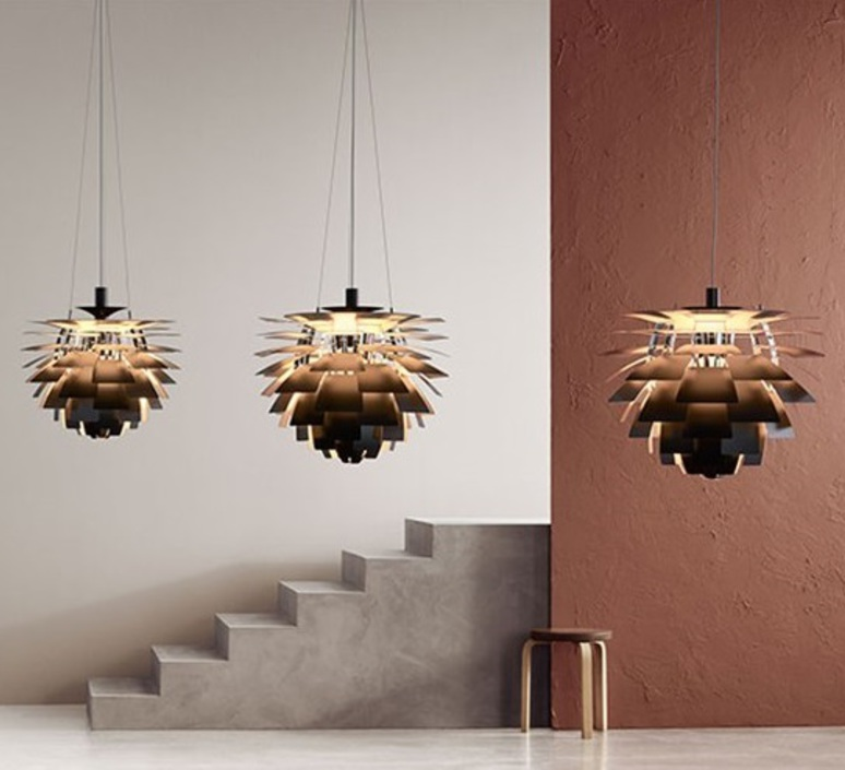 Artichoke m poul henningsen suspension pendant light  louis poulsen 5741112375  design signed nedgis 82197 product