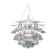 Artichoke s poul henningsen suspension pendant light  louis poulsen 5741097788  design signed 49057 thumb