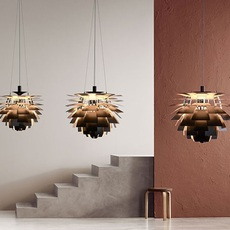 Artichoke s poul henningsen suspension pendant light  louis poulsen 5741112252  design signed nedgis 82219 thumb