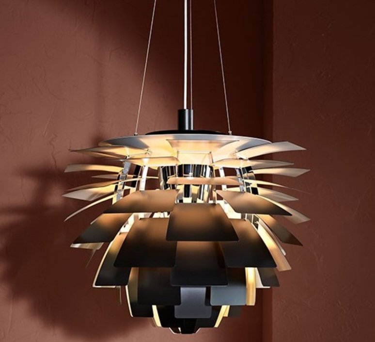 Artichoke s poul henningsen suspension pendant light  louis poulsen 5741112252  design signed nedgis 82222 product