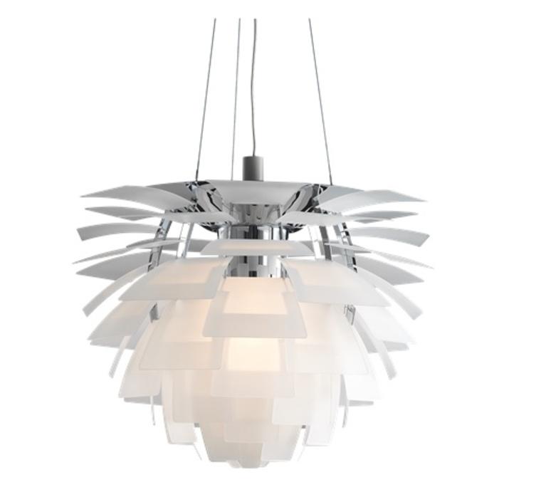 Artichoke verre poul henningsen suspension pendant light  louis poulsen 5741092725  design signed nedgis 106644 product