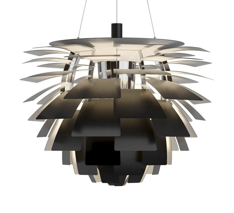 Artichoke xl poul henningsen suspension pendant light  louis poulsen 5741112553  design signed nedgis 82214 product