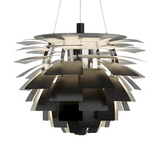 Artichoke xl poul henningsen suspension pendant light  louis poulsen 5741112553  design signed nedgis 82214 thumb