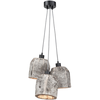 Suspension aspen gris bois o24cm it s about romi normal