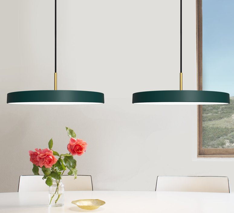 Asteria anders klem suspension pendant light  vita copenhagen 2153  design signed 38114 product