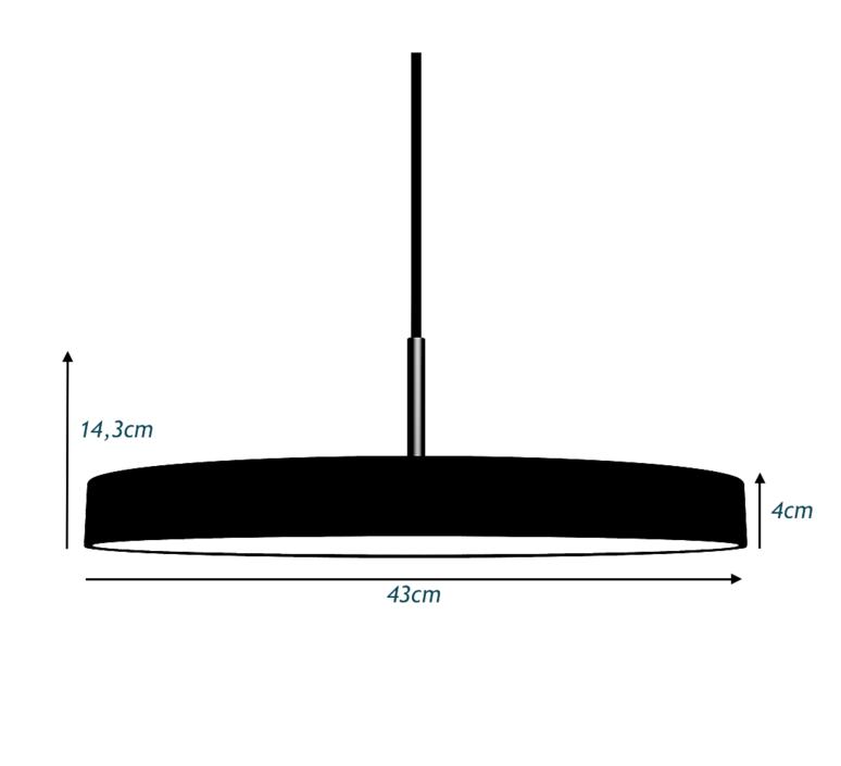 Asteria anders klem suspension pendant light  vita copenhagen 2153  design signed 38117 product