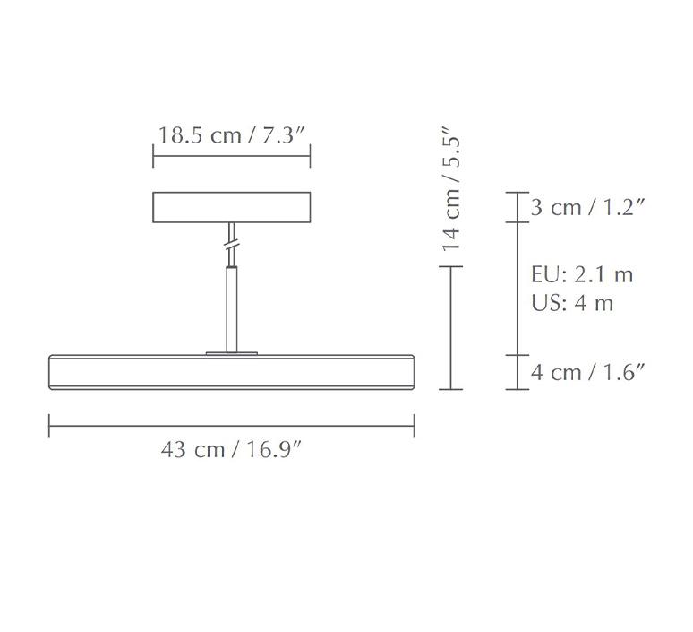 Asteria medium soren ravn christensen suspension pendant light  umage 2420  design signed nedgis 118776 product