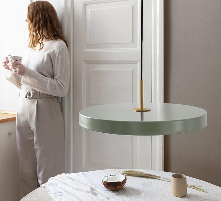 Asteria medium anders klem suspension pendant light  umage 2421  design signed nedgis 115627 product