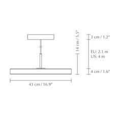 Asteria medium anders klem suspension pendant light  umage 2421  design signed nedgis 115630 thumb