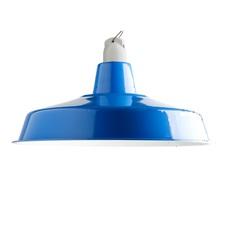 Suspension atelier emaillee bleu o40cm h16cm zangra 54944 thumb